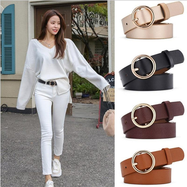 Shape Buckle Waist Belt