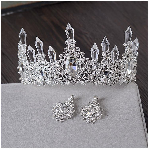 Clear Ice Queen Crown