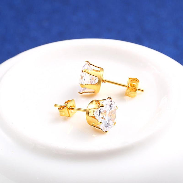 RIR Hot Sale Small Crystal Stud