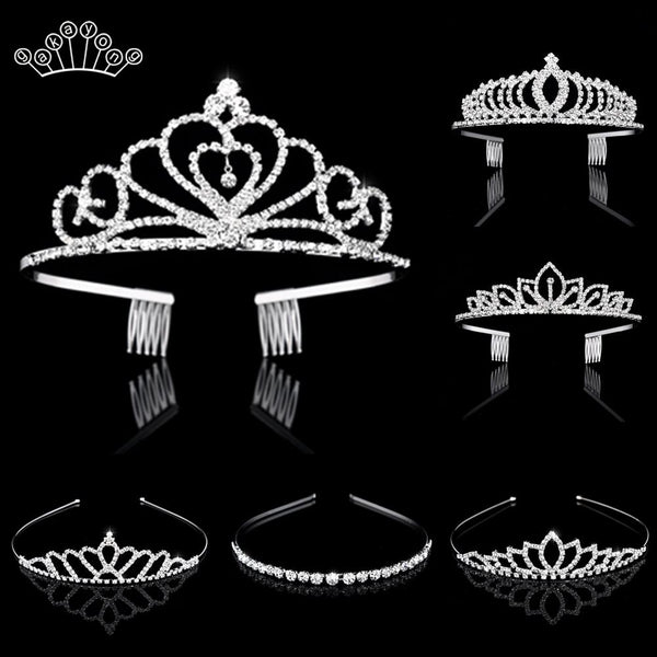 Bridal Crystal Tiaras and Crowns Headband