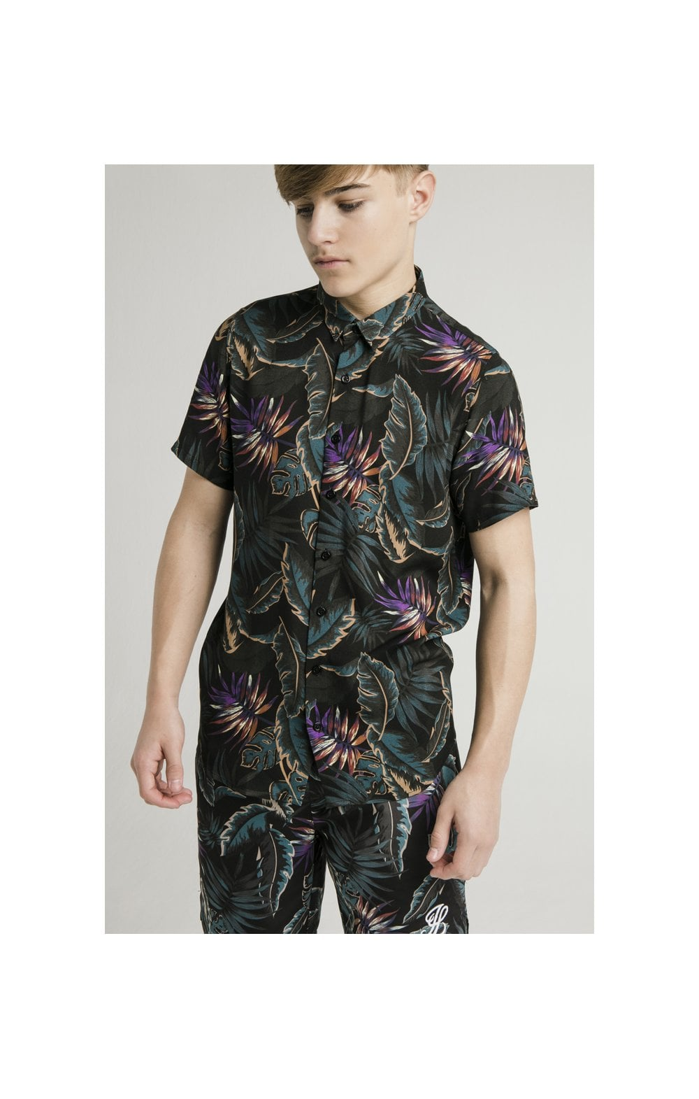 Load image into Gallery viewer, Illusive London Resort Shirt - Palm Print