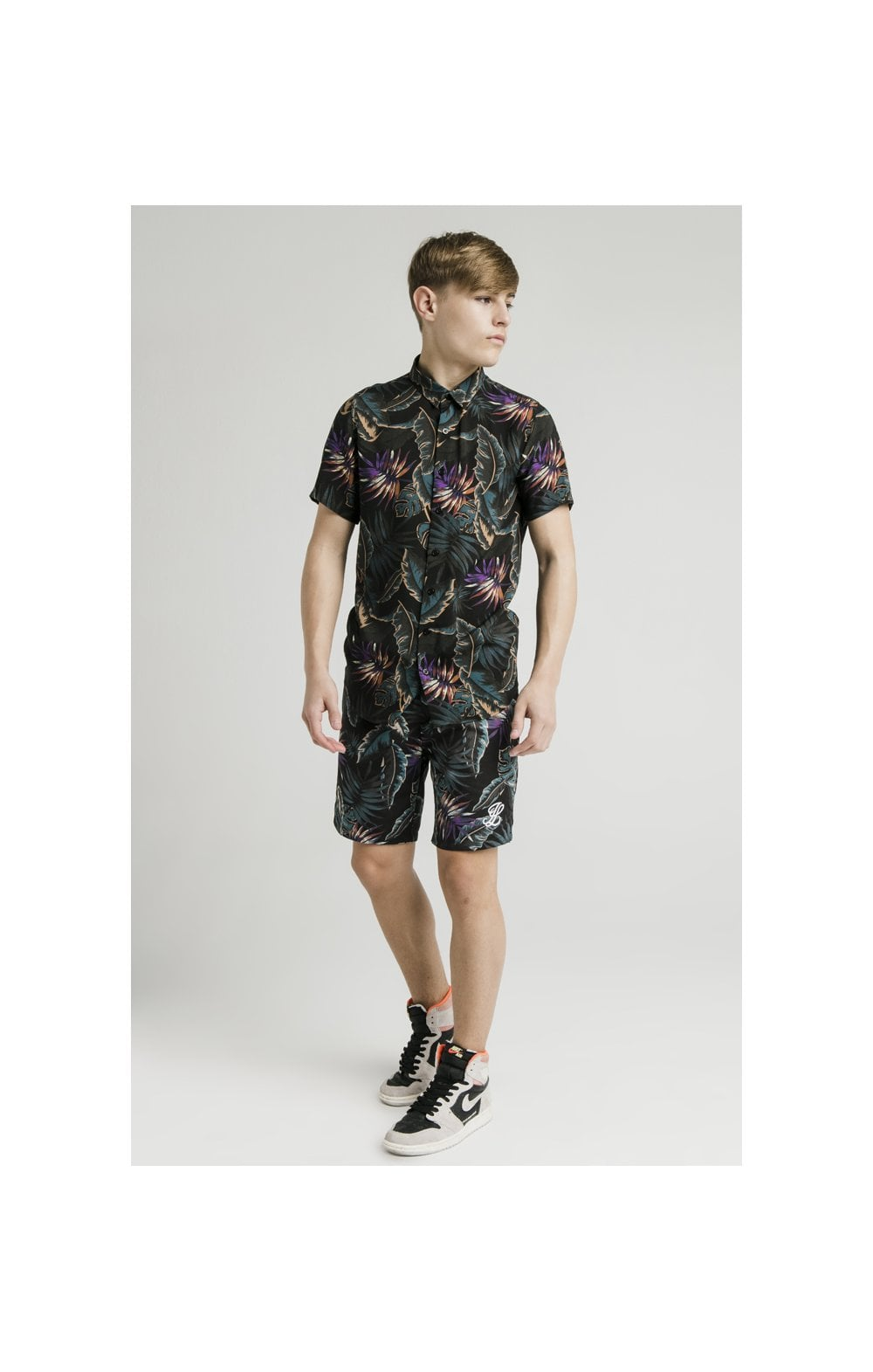 Load image into Gallery viewer, Illusive London Resort Shirt - Palm Print (4)