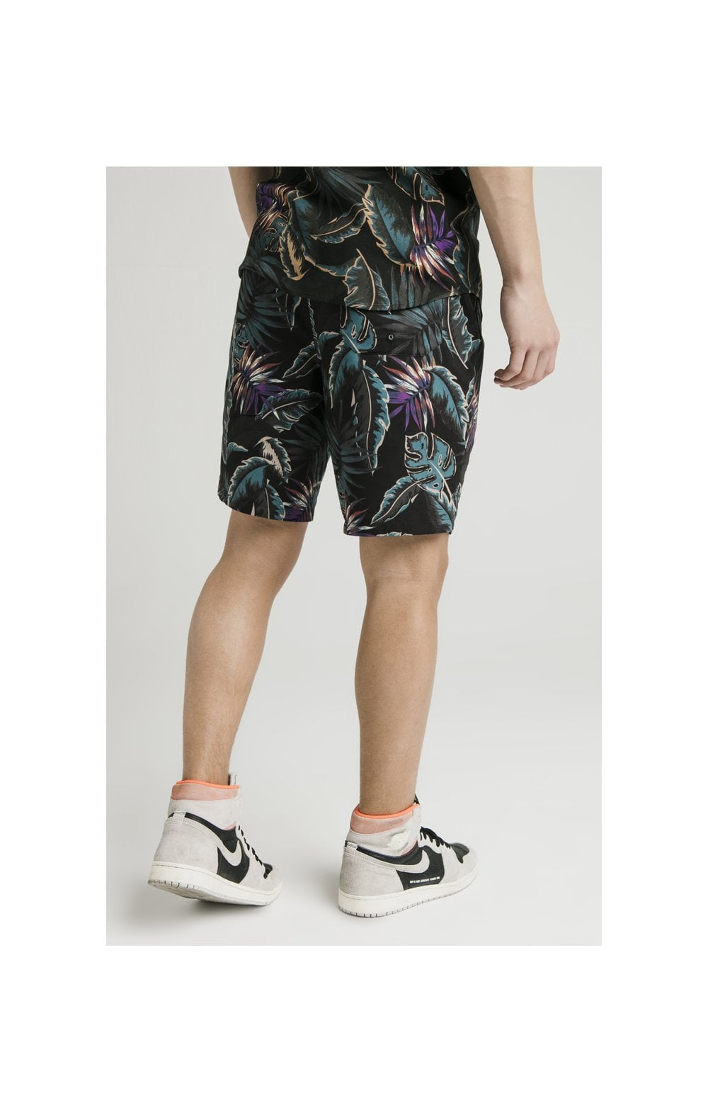 Illusive London Swim Shorts - Palm Print (2)