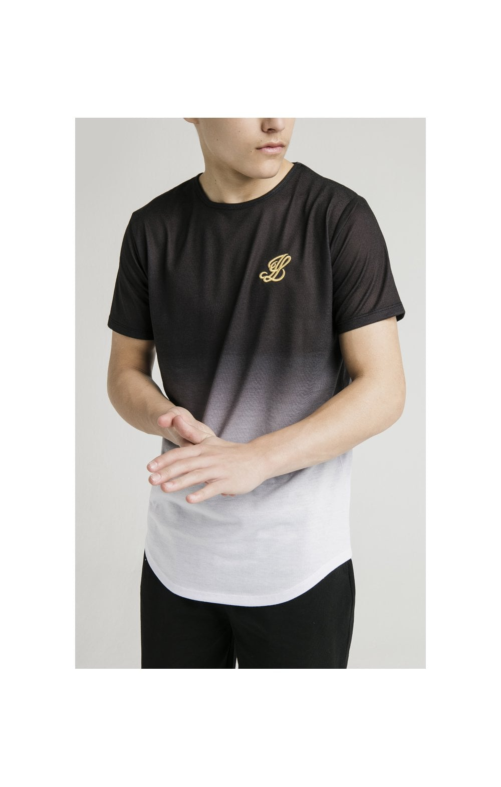 Illusive London S/S Fade Tee - Black & White