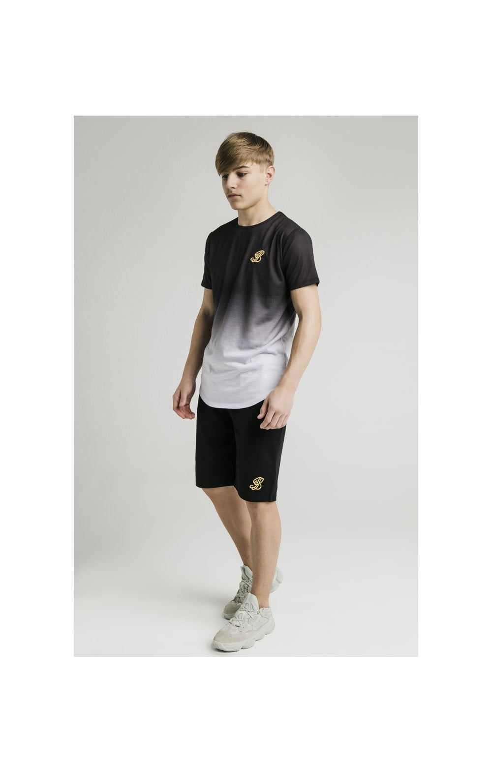 Load image into Gallery viewer, Illusive London S/S Fade Tee - Black & White (6)