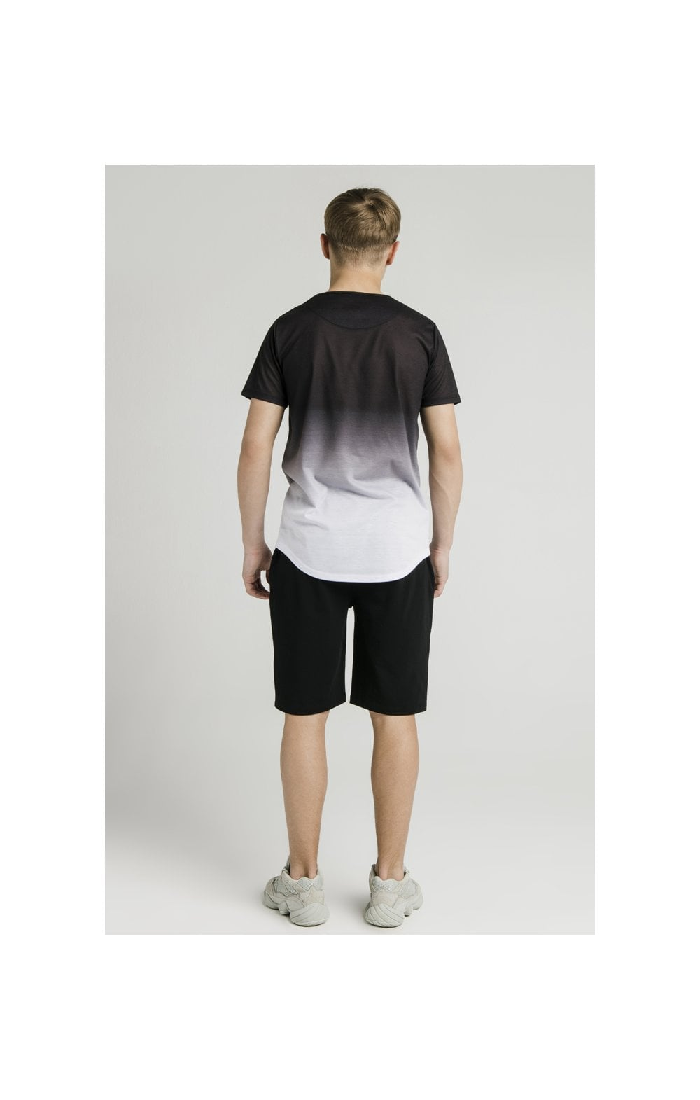 Load image into Gallery viewer, Illusive London S/S Fade Tee - Black & White (7)