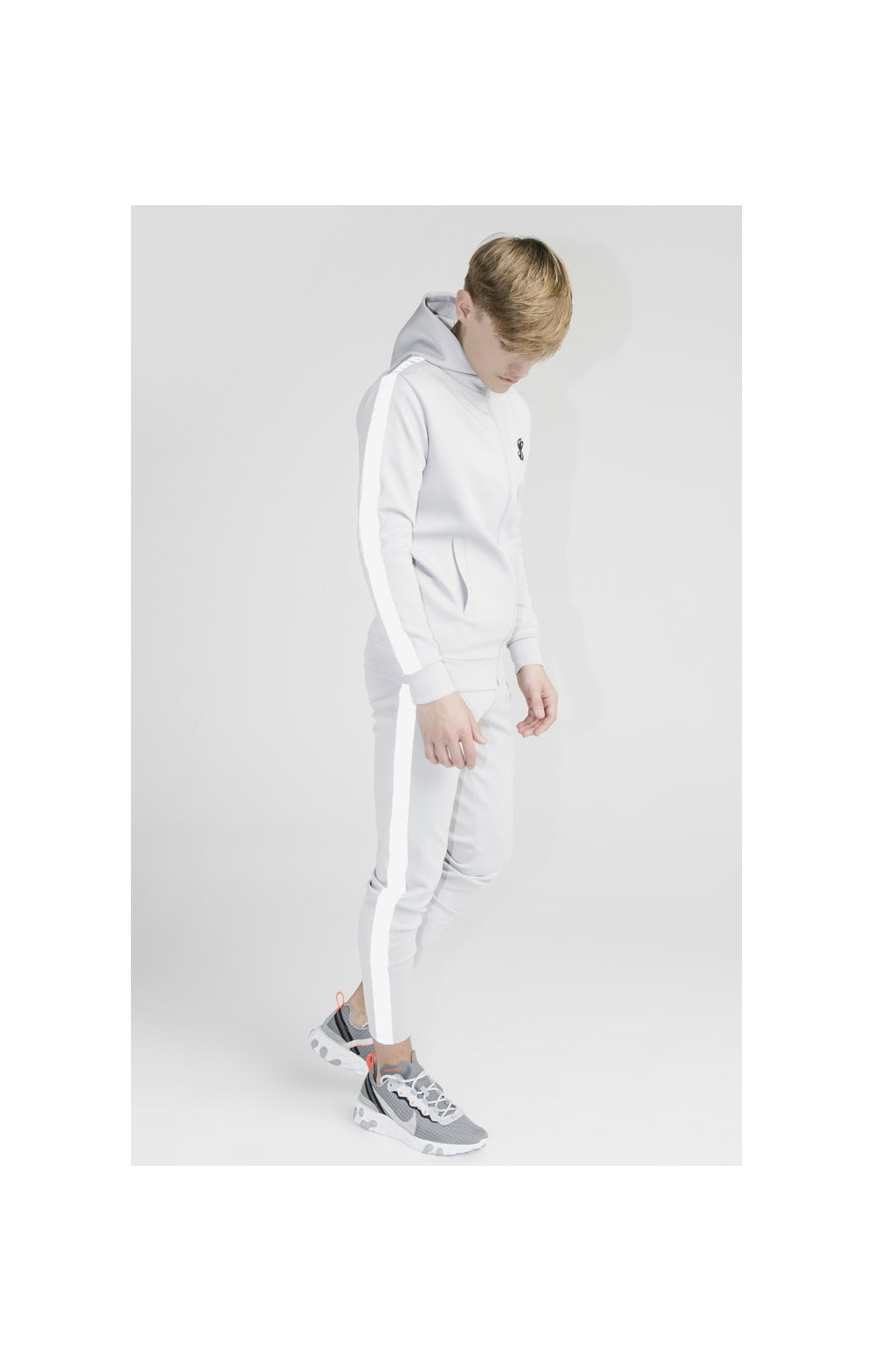 Load image into Gallery viewer, Illusive London Reflect Joggers - Grey (4)