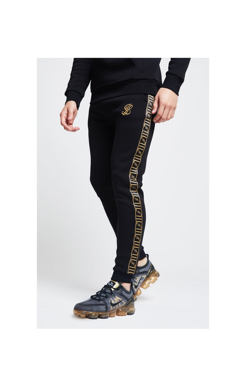 Illusive London Taped Cuffed Joggers – Black