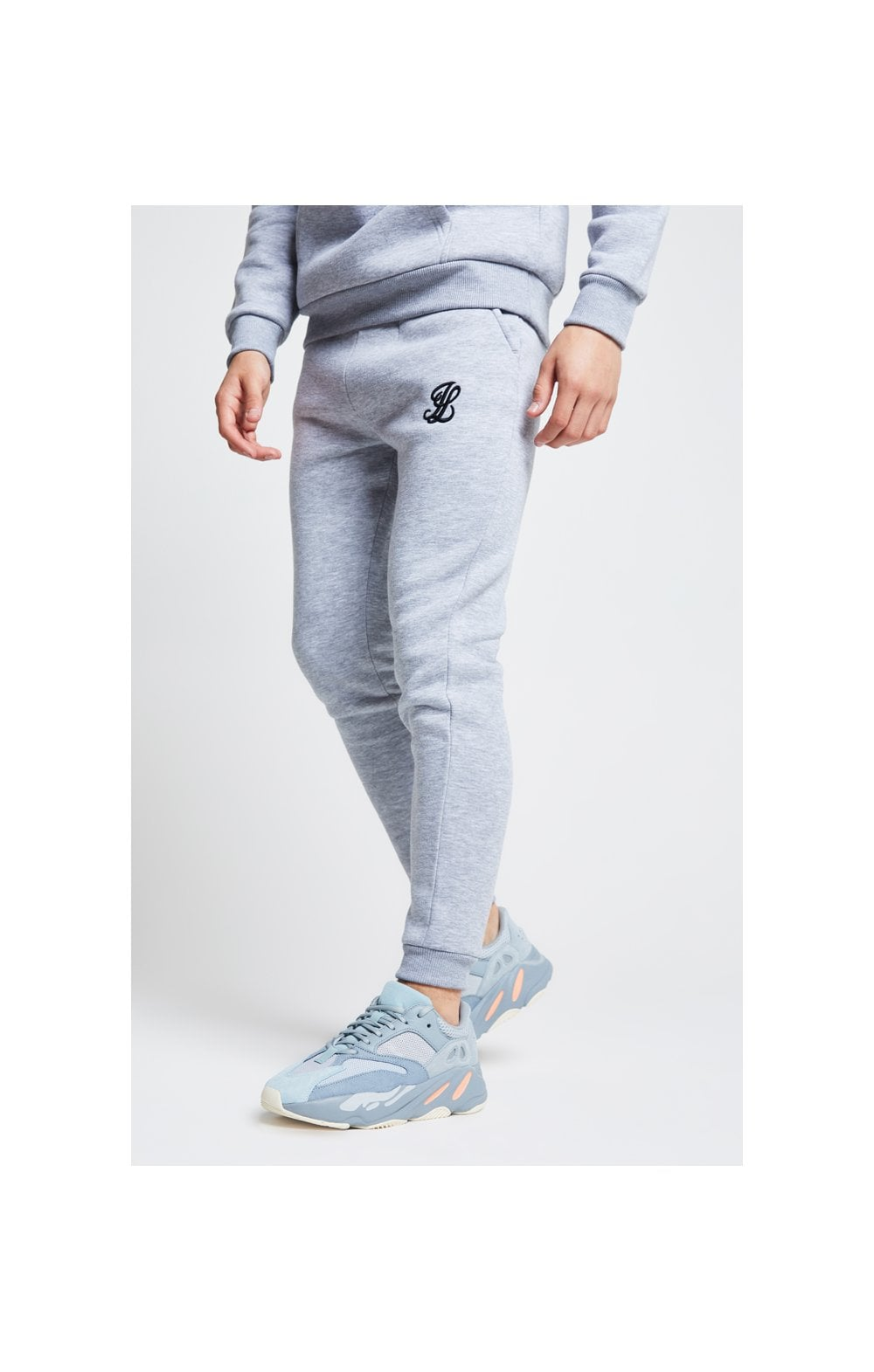Illusive London Joggers – Grey Marl (1)