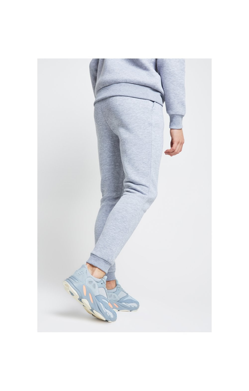 Illusive London Joggers – Grey Marl (2)