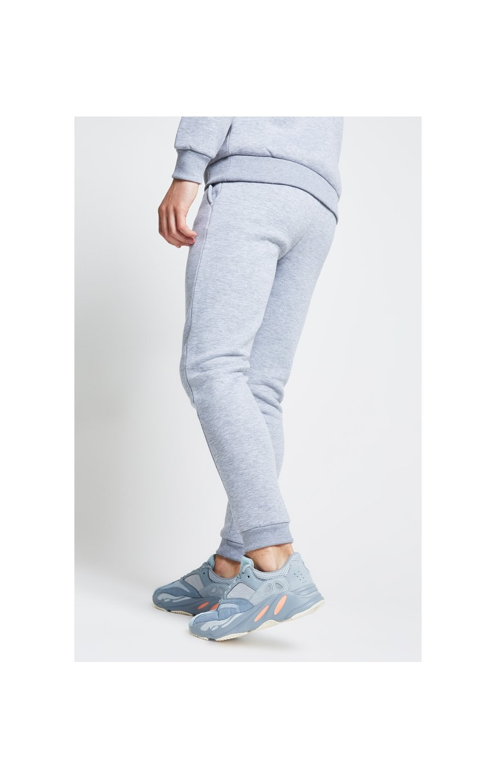 Illusive London Joggers – Grey Marl (3)