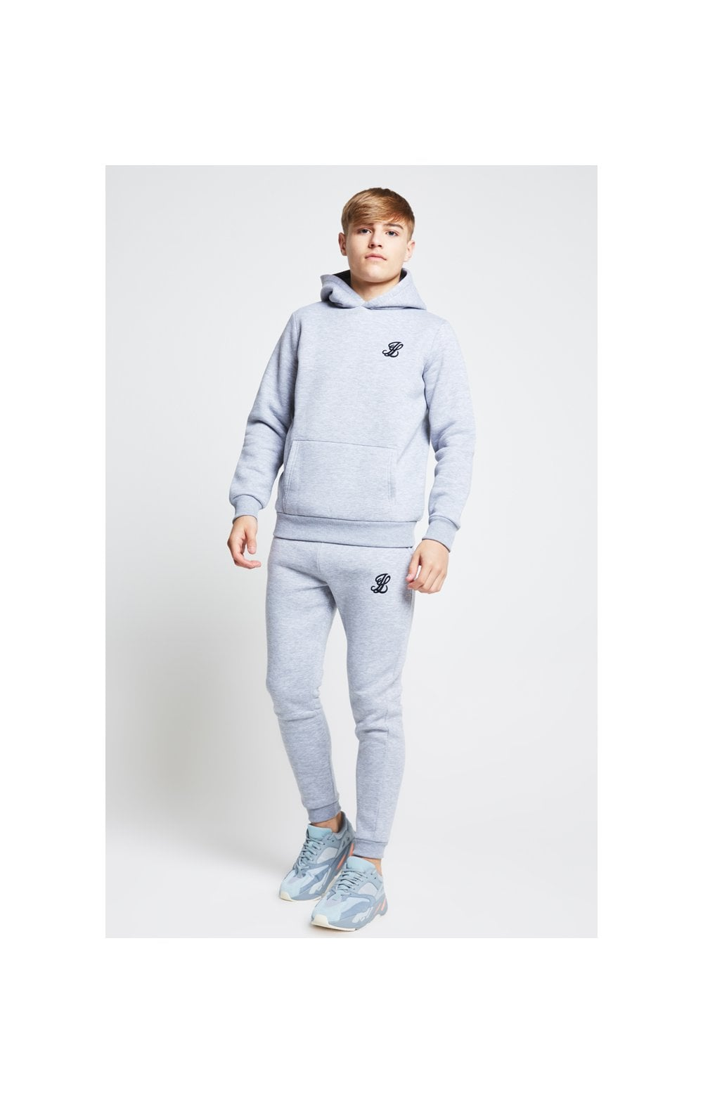Illusive London Joggers – Grey Marl (4)