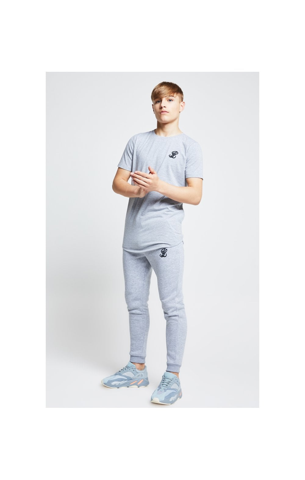 Illusive London Tee – Grey Marl (2)
