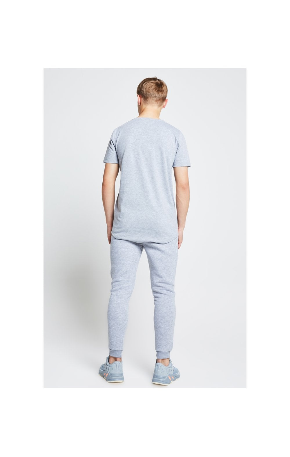Illusive London Tee – Grey Marl (6)