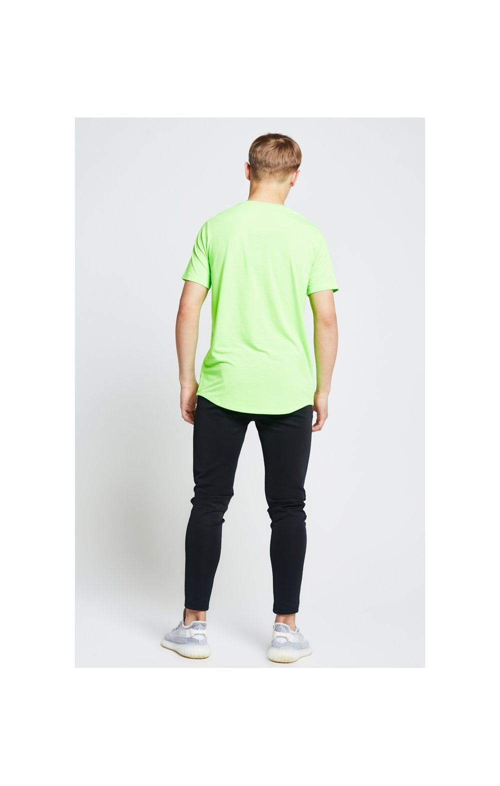 Illusive London S/S Taped Tee – Neon Green (5)