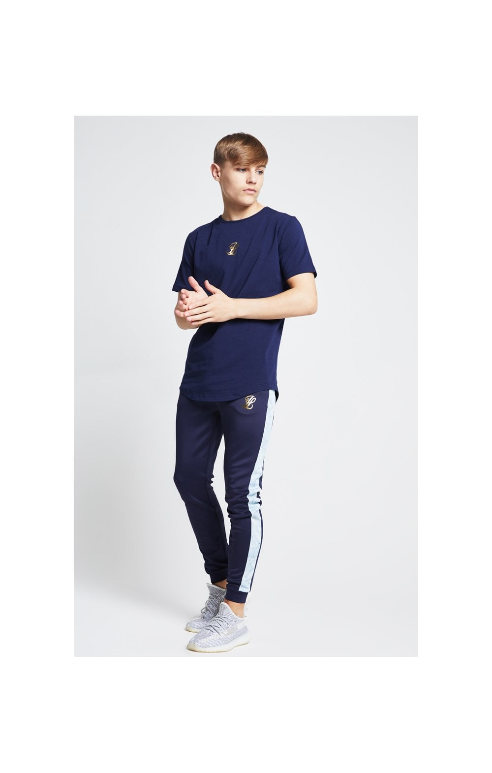 Illusive London Marble Racer Back Tee – Navy & Marble (5)