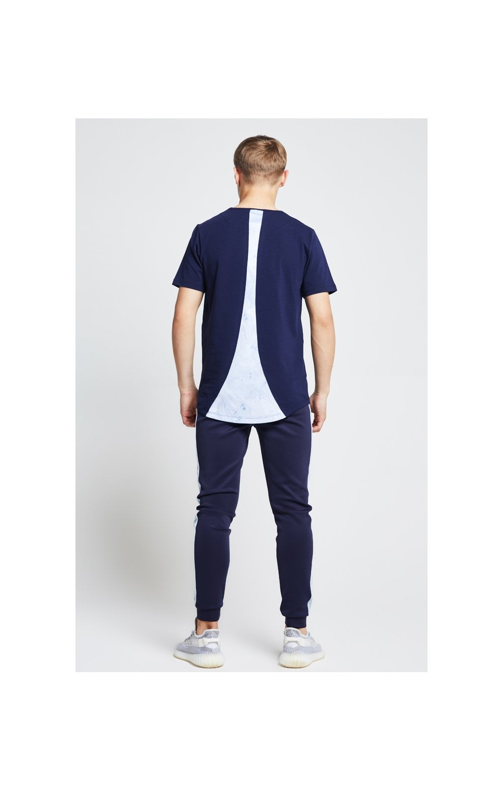 Illusive London Marble Racer Back Tee – Navy & Marble (6)