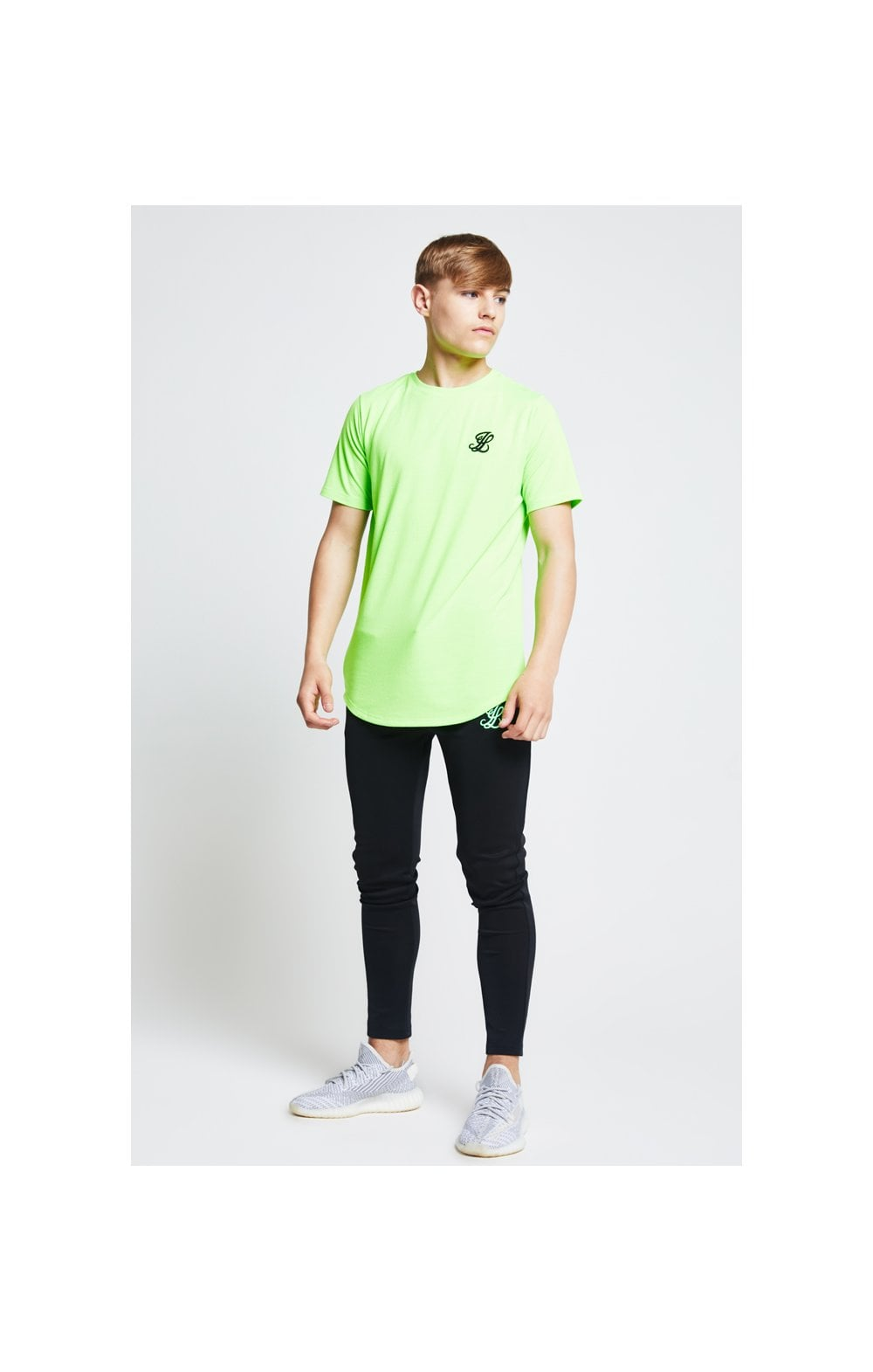 Illusive London S/S Taped Tee – Neon Green (4)