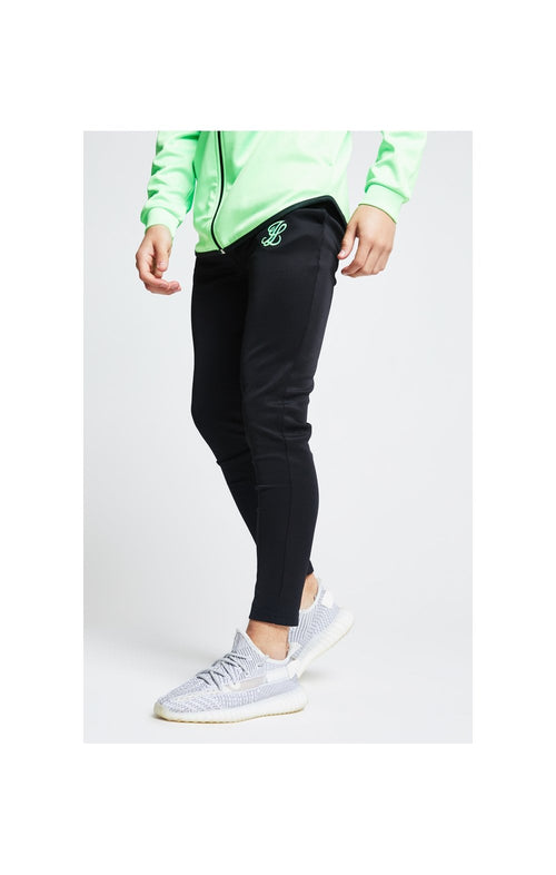 Illusive London Athlete Pants – Black & Neon Green