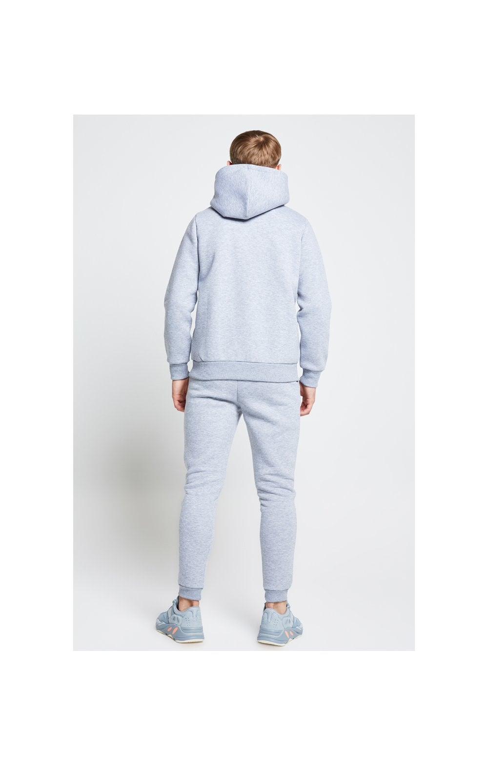 Illusive London Overhead Hoodie - Grey Marl (4)