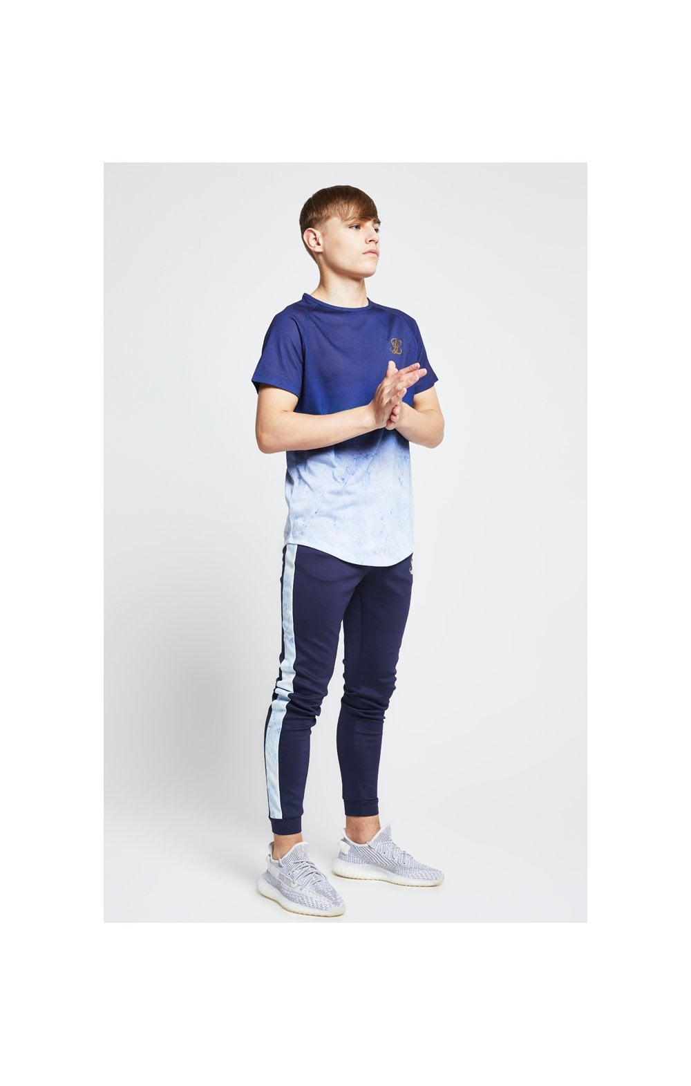 Illusive London Marble Fade Tee – Navy & Marble (3)