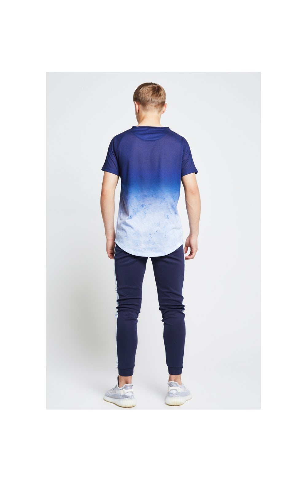 Illusive London Marble Fade Tee – Navy & Marble (4)