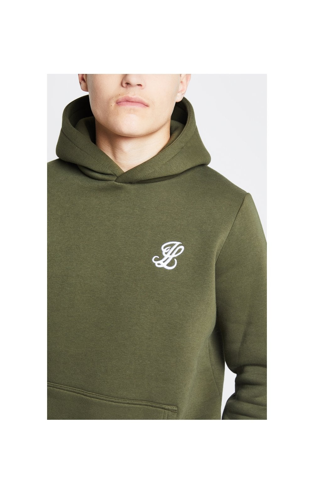 Illusive London Overhead Hoodie - Khaki