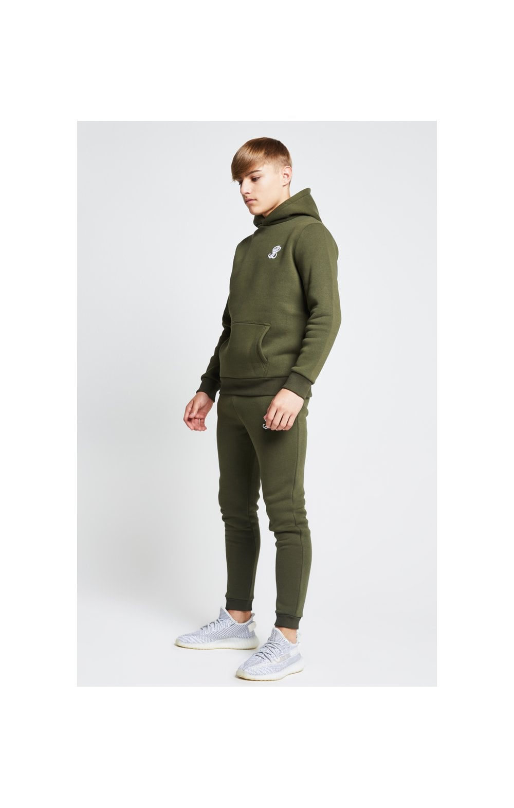 Load image into Gallery viewer, Illusive London Overhead Hoodie - Khaki (3)