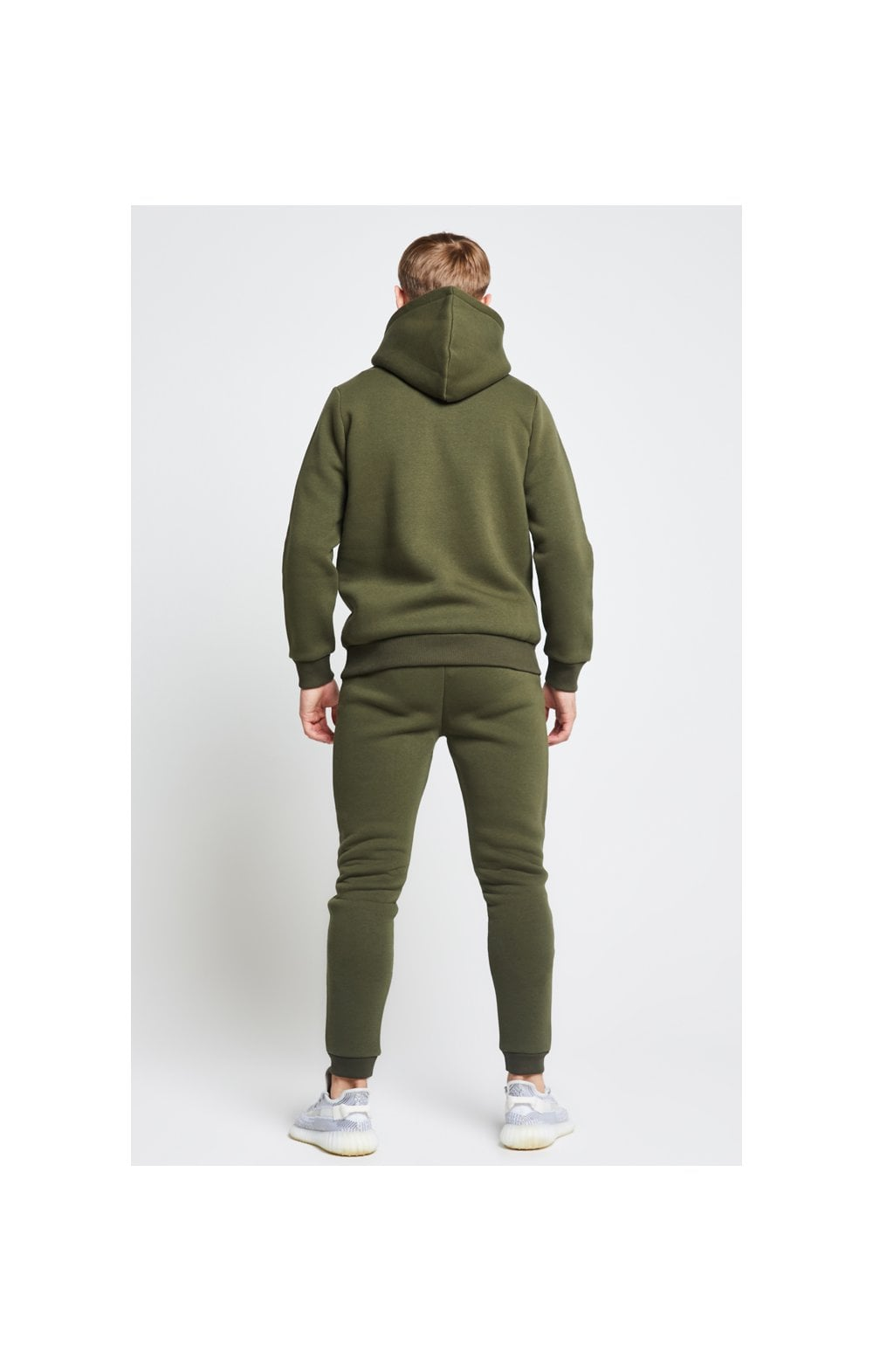 Load image into Gallery viewer, Illusive London Overhead Hoodie - Khaki (4)