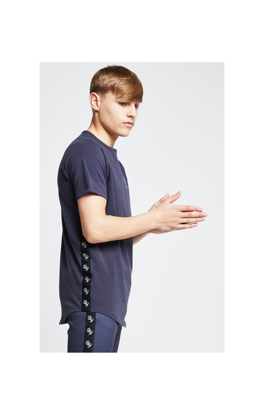 Illusive London Tape Slide Tee - Grey (1)