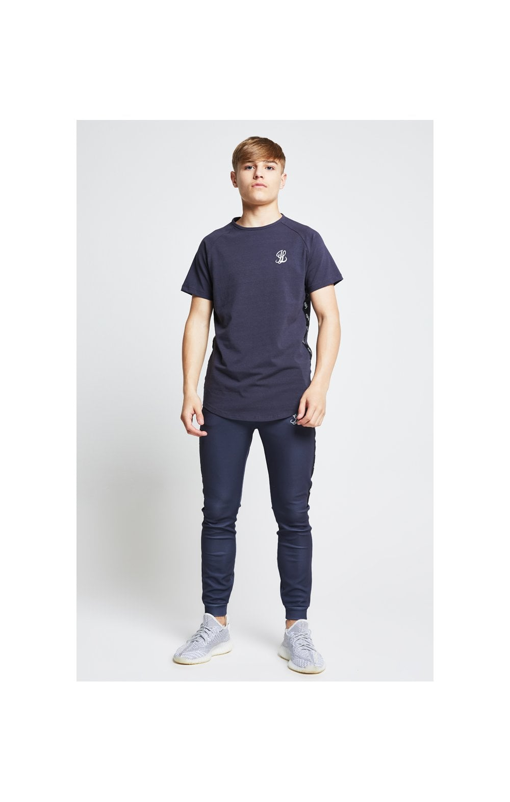 Illusive London Tape Slide Tee - Grey (4)