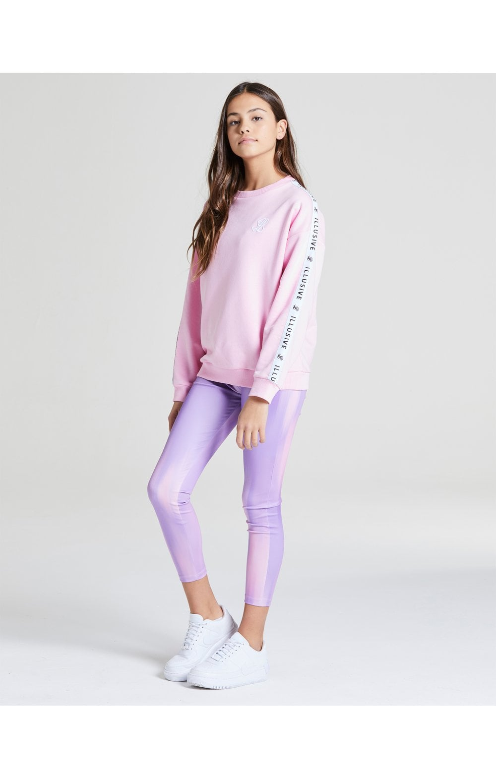 Illusive London Crew Neck Sweater - Pink (3)