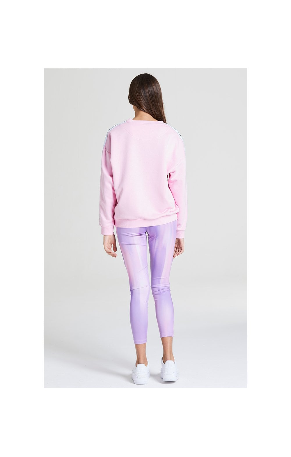 Illusive London Crew Neck Sweater - Pink (5)