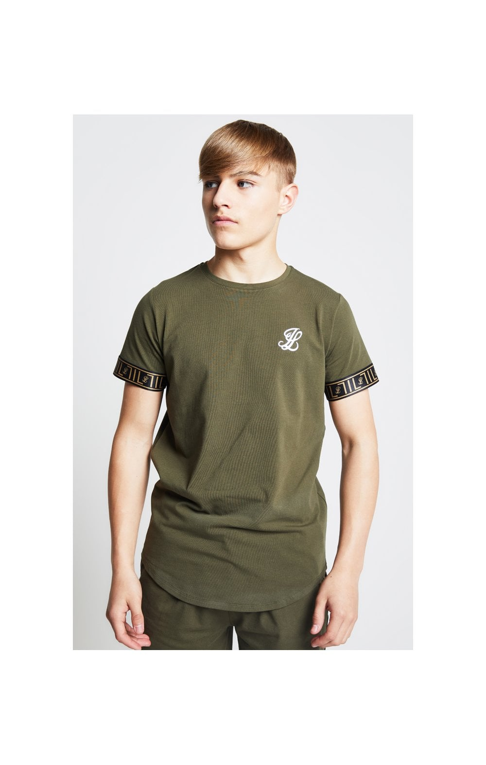 Illusive London Tech Tee - Khaki (1)