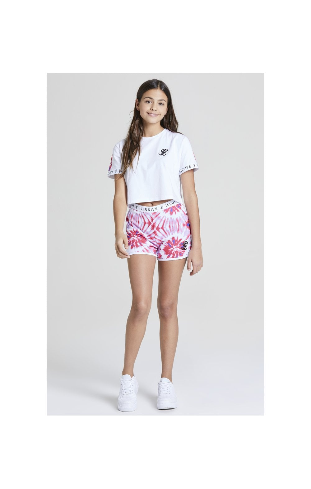 Load image into Gallery viewer, Illusive London Tie Dye Shorts – Multi (3)