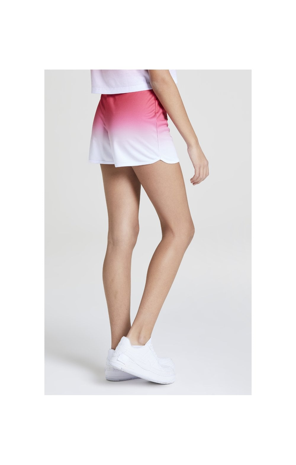 Load image into Gallery viewer, Illusive London Fade Shorts – Pink & White (5)