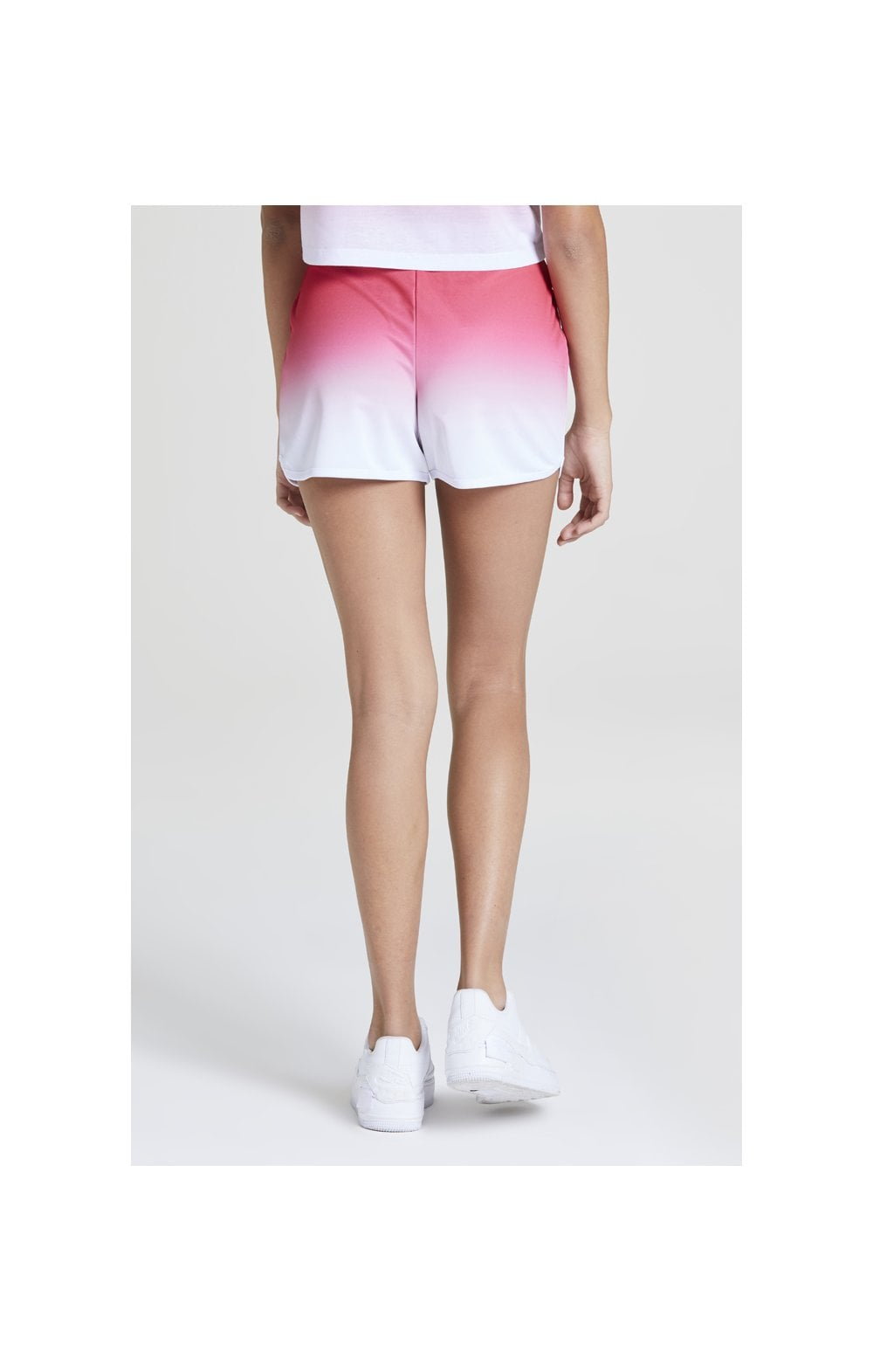 Load image into Gallery viewer, Illusive London Fade Shorts – Pink & White (6)