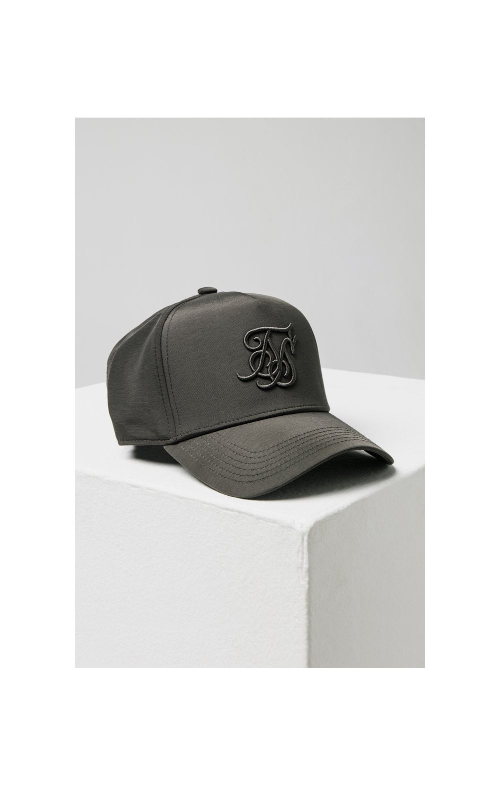 Load image into Gallery viewer, SikSilk Crushed Nylon Full Trucker - Charcoal (4)