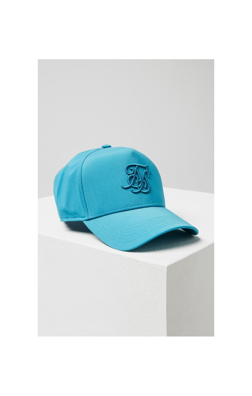 SikSilk Crushed Nylon Full Trucker - Teal (2)
