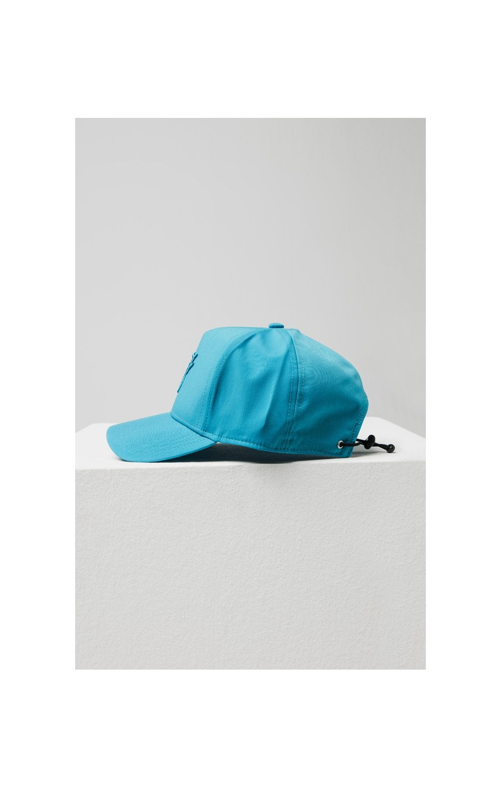SikSilk Crushed Nylon Full Trucker - Teal (4)