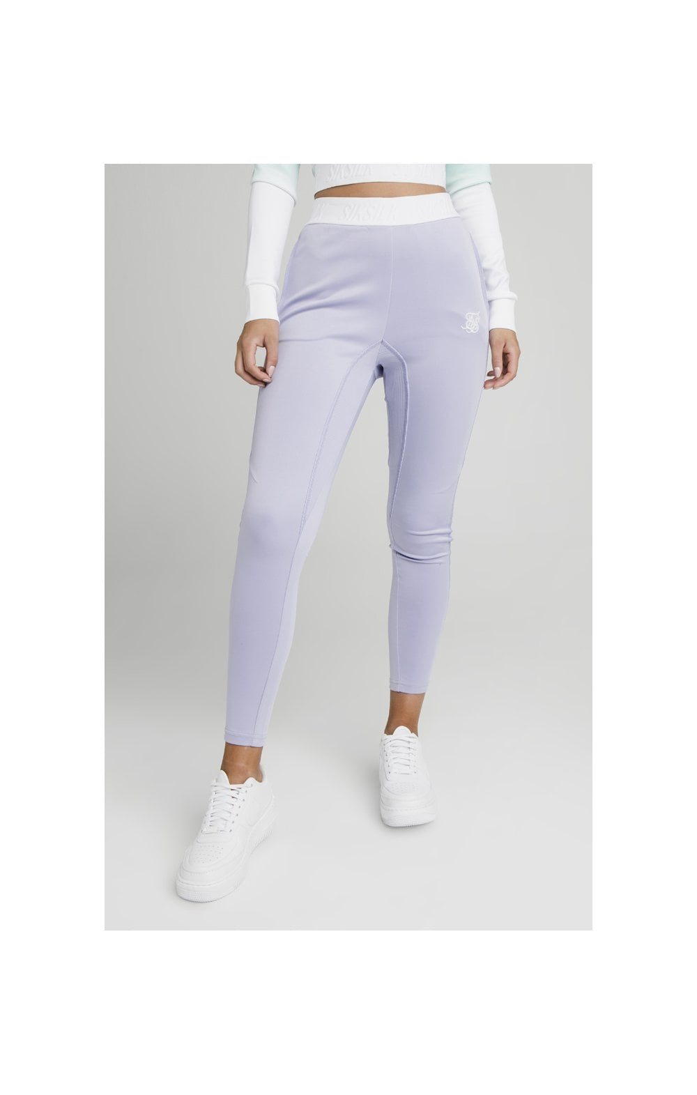 Load image into Gallery viewer, SikSilk Lilac Haze Track Pants - Lilac