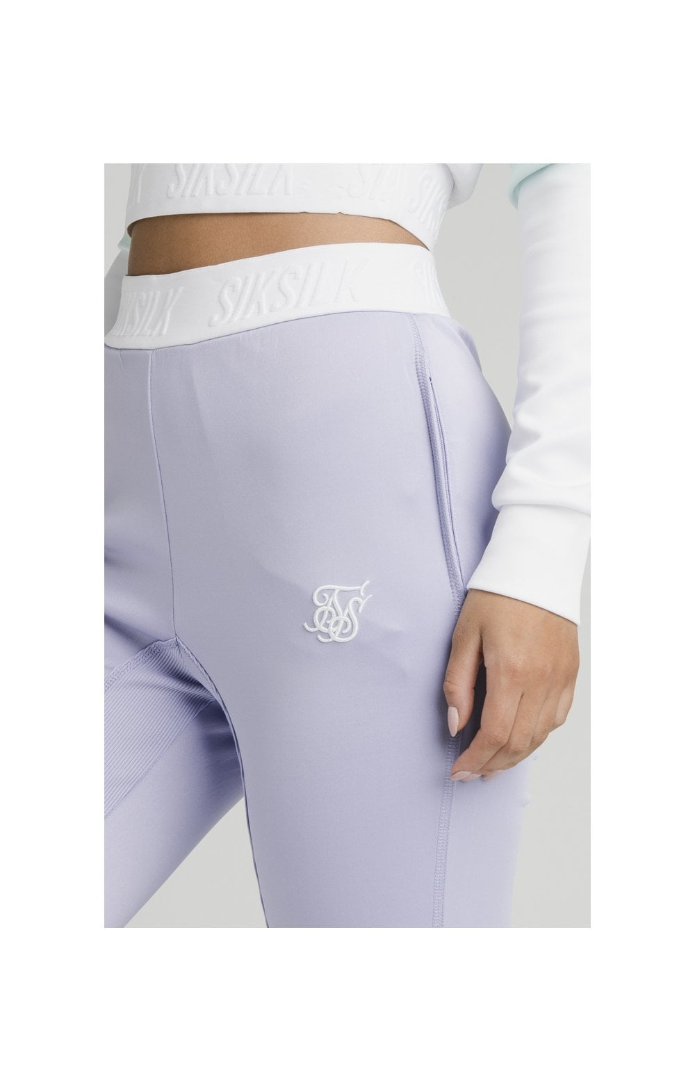 Load image into Gallery viewer, SikSilk Lilac Haze Track Pants - Lilac (2)