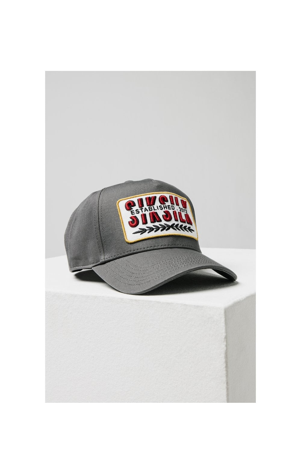 SikSilk Patch Full Trucker - Charcoal (2)