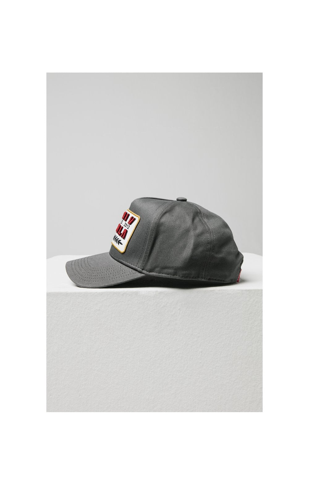 SikSilk Patch Full Trucker - Charcoal (3)