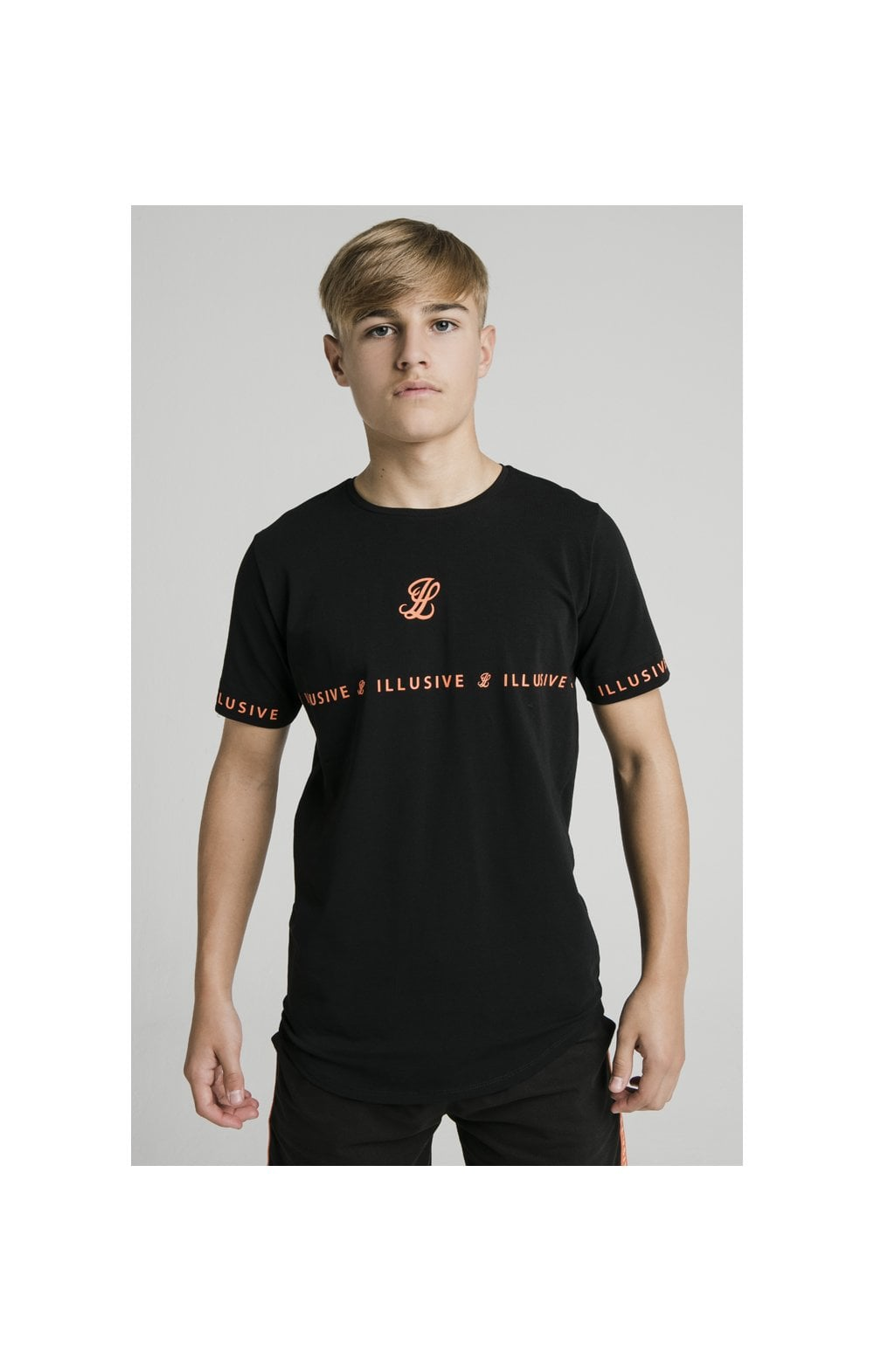 Illusive London Tape Tee - Black