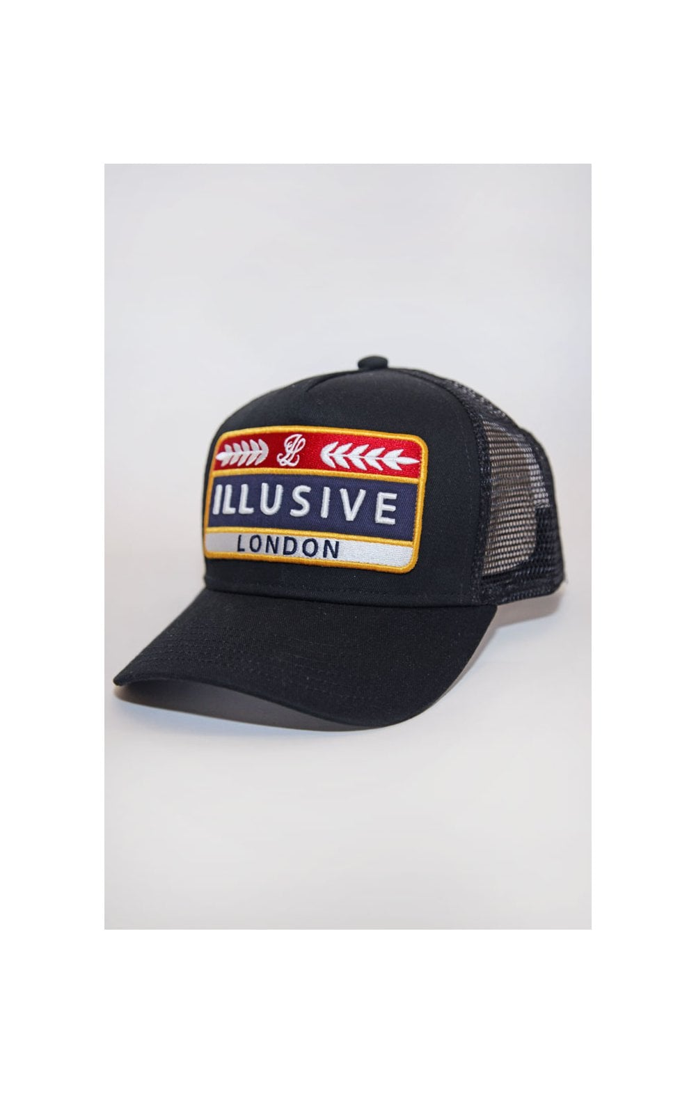 Load image into Gallery viewer, Illusive London Patch Trucker - Black