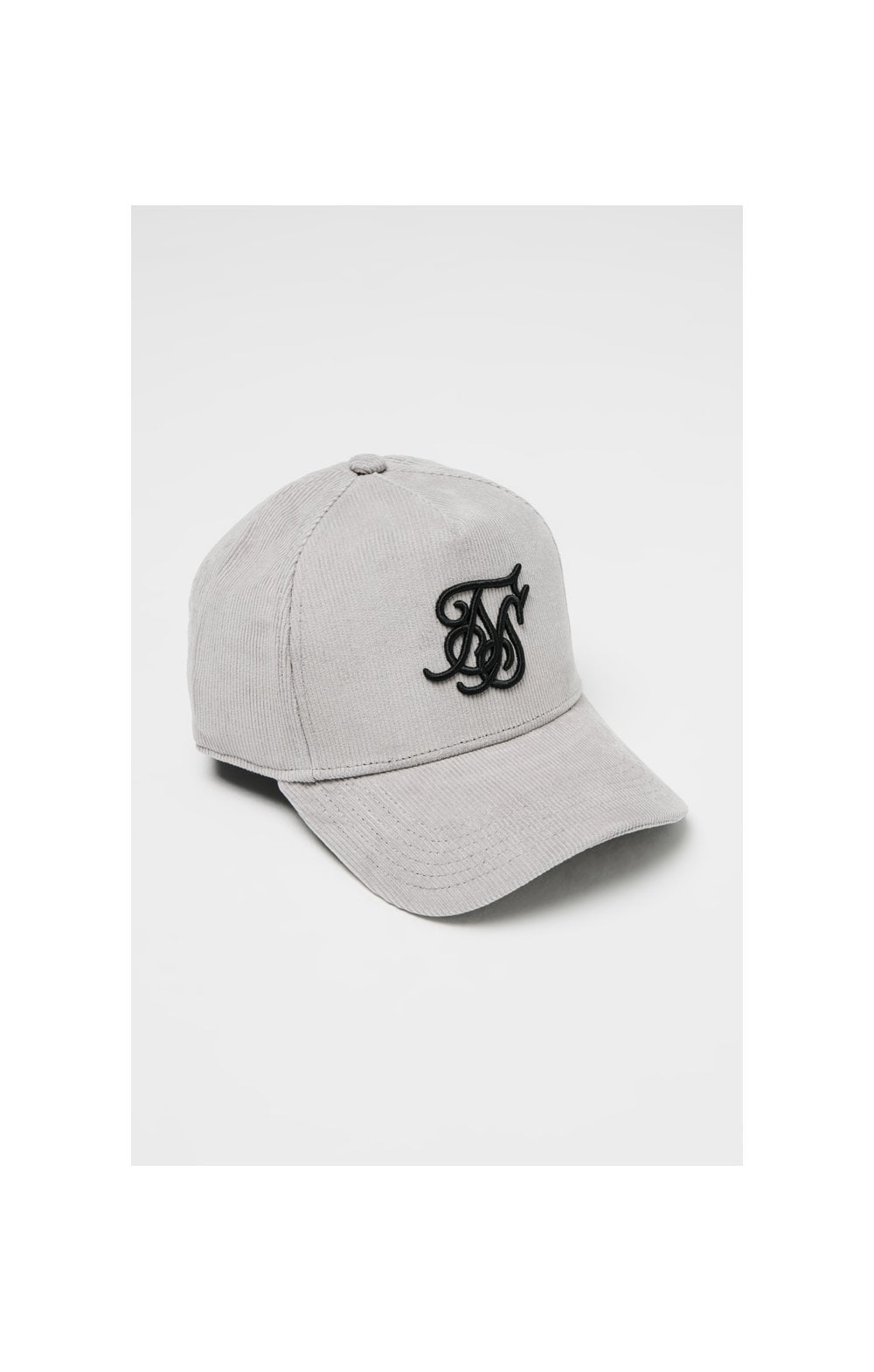 SikSilk Corduroy Full Trucker - Light Grey
