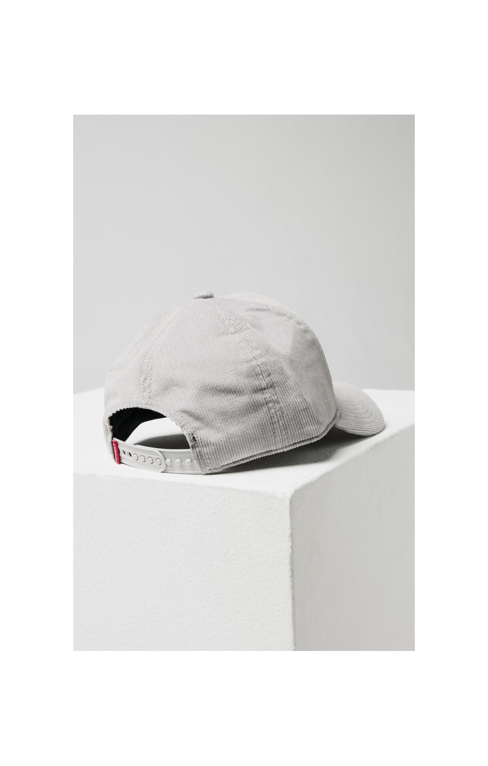 SikSilk Corduroy Full Trucker - Light Grey (4)
