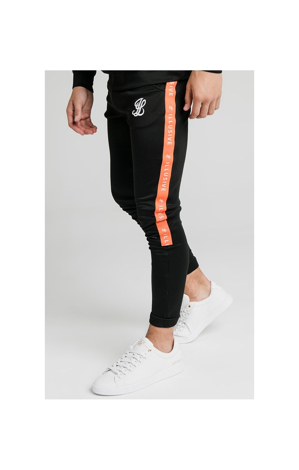 Illusive London Tape Joggers - Black (3)