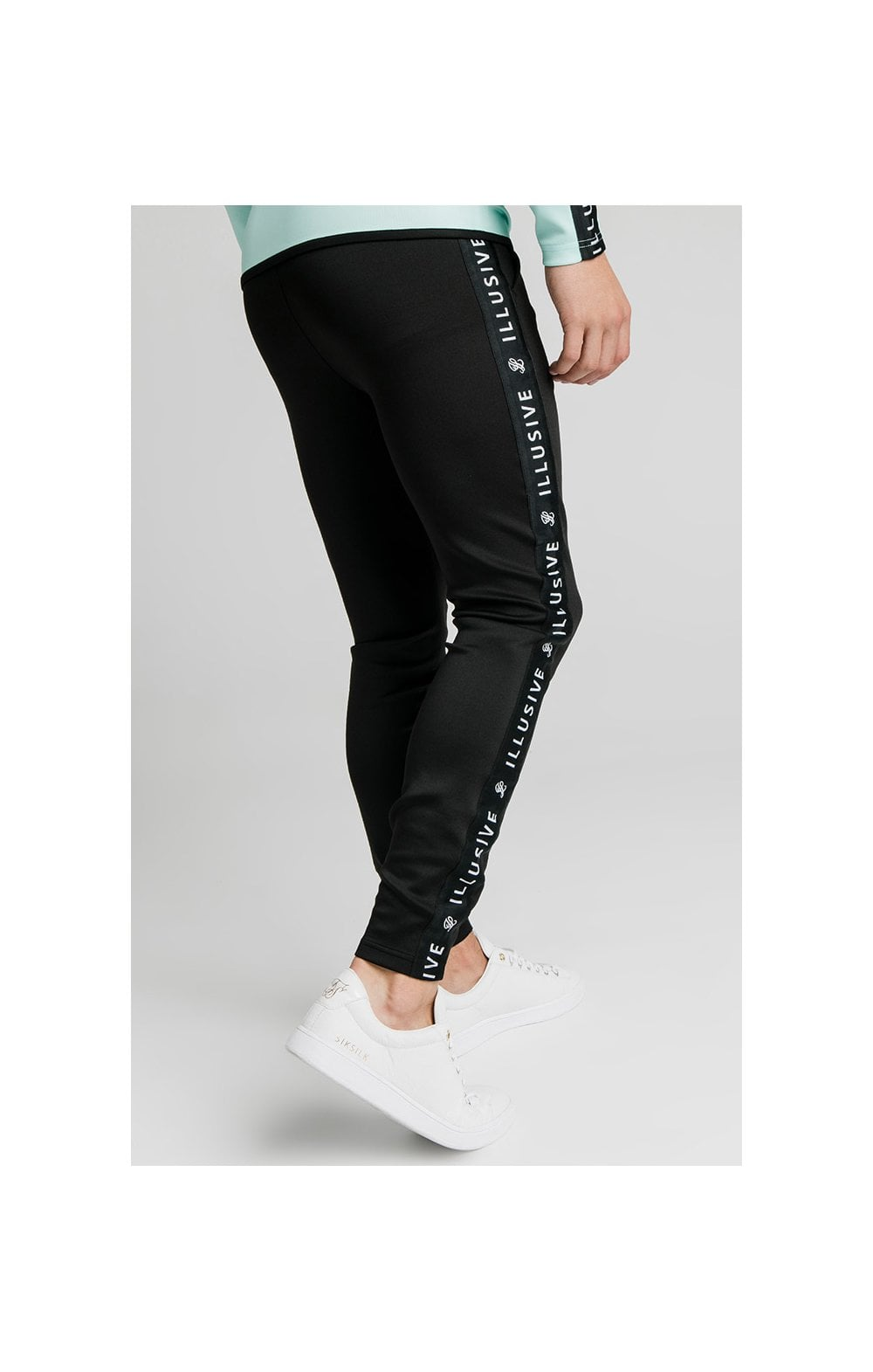 Load image into Gallery viewer, Illusive London Tape Pants - Black (2)